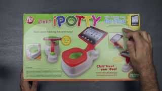 iPotty- Unboxing & Set Up (potty training seat with iPad holder)