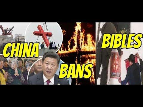 UNBELIEVABLE CHINA BANS ONLINE BIBLE SALES!