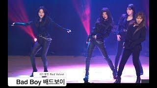 레드벨벳 Red Velvet[4K 직캠]Bad Boy 배드보이,명지대 용인 OT@180228 락뮤직