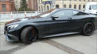 видео Brabus 850 6.0 Biturbo (тюнинг Mercedes S-Class W222)