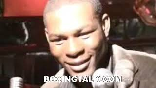 Jermain Taylor in NYC before first Pavlik fight