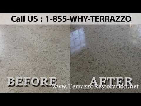 How to Clean and Polish Terrazzo Floors in Fort Lauderdale