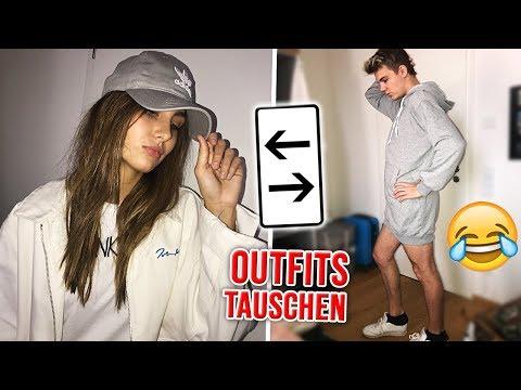 Wir TAUSCHEN unsere OUTFITS 😂  (mit Marie) thumbnail