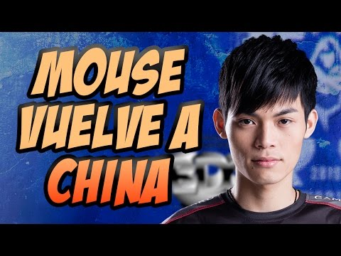 EDG WORLDS ROSTER UPDATE - MOUSE SE VA A CHINA