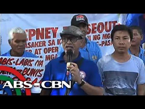"""TV Patrol: """"Transport strike, 'walang epekto' sa mga pasahero"""" - LTFRB"""