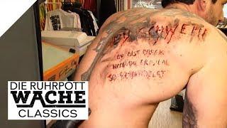 Schlägerei im Tattoo-Studio: Ihm wurden Beleidigungen tätowiert! | Die Ruhrpottwache | SAT.1
