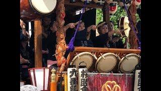 熊谷うちわ祭、7月21日「巡行祭」の様子です。 JVC GZ RX130 Bにて撮影。