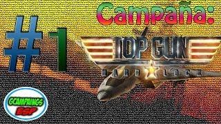 Campaña Top Gun Hard Lock | Mision 1: Bienvenido al Golfo - Español 1080p