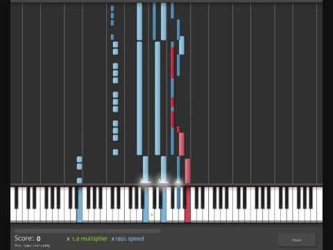 How To Play The Final Countdown On Pianokeyboard Youtube