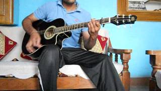 Dil Ne Tum Ko Chun Liya Hai on Guitar