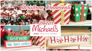 Christmas Ornaments at Michaels || Christmas Decor at Michaels || Holiday Edition