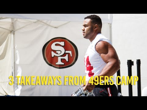 3 takeaways from 49ers' Saturday training camp