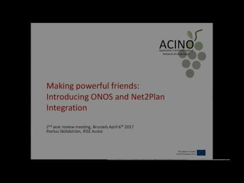 Making powerful friends: Introducing ONOS and Net2Plan
