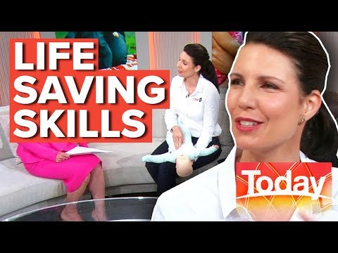 Learning CPR could save your child's life | Today Show Australia