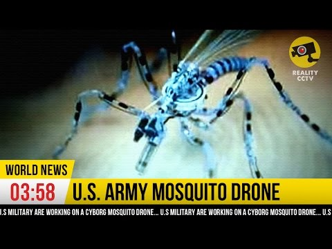 NANO SPY DRONE : Mosquito Drone from U.S. Military