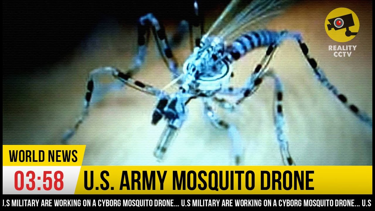 NANO SPY DRONE Mosquito Drone From US Military