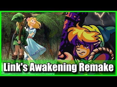 RUMOR Zelda Link's Awakening 3D / HD Remake Coming to Nintendo Switch or 3DS