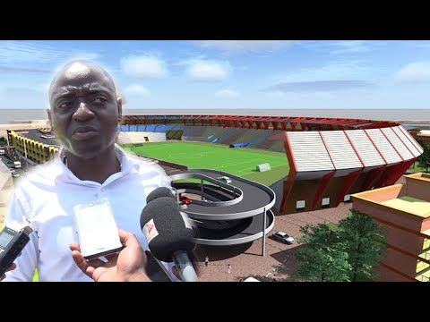 One Man (HAM) Builds The Most Expensive Stadium in Africa