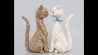 Кошка принцесса амигуруми,кошка крючком.Вязаная игрушка крючком.Вязание крючком кошка.