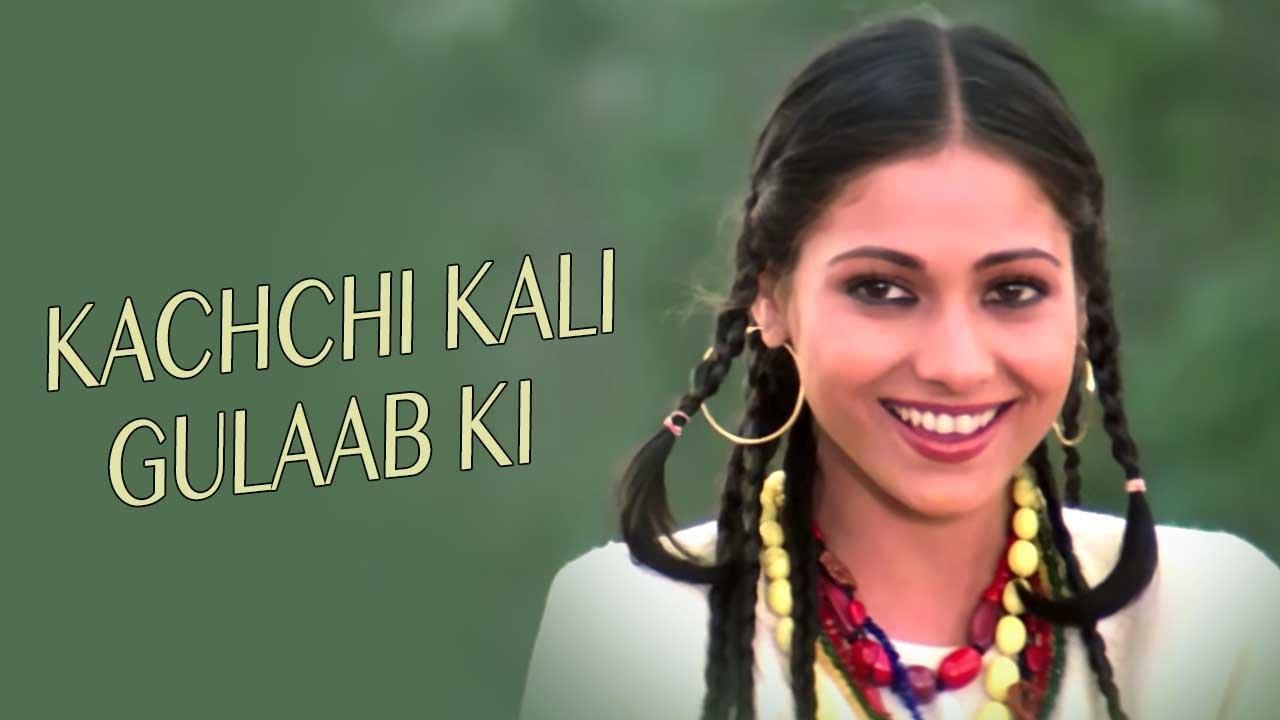 Download Kachchi Kali Gulaab Ki (Full HD) Video Song   Khuda Kasam   Vinod Khanna, Tina Munim