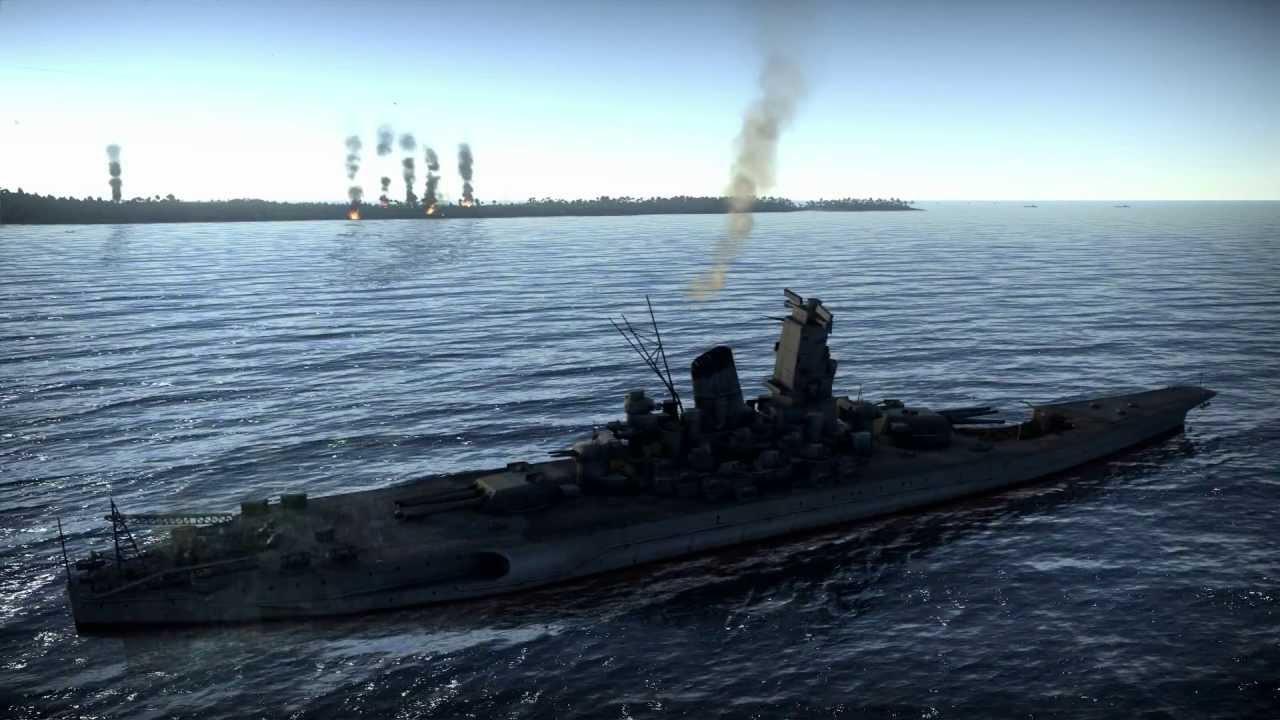 Yamato class battleship - [Operation] Peleliu - War Thuner