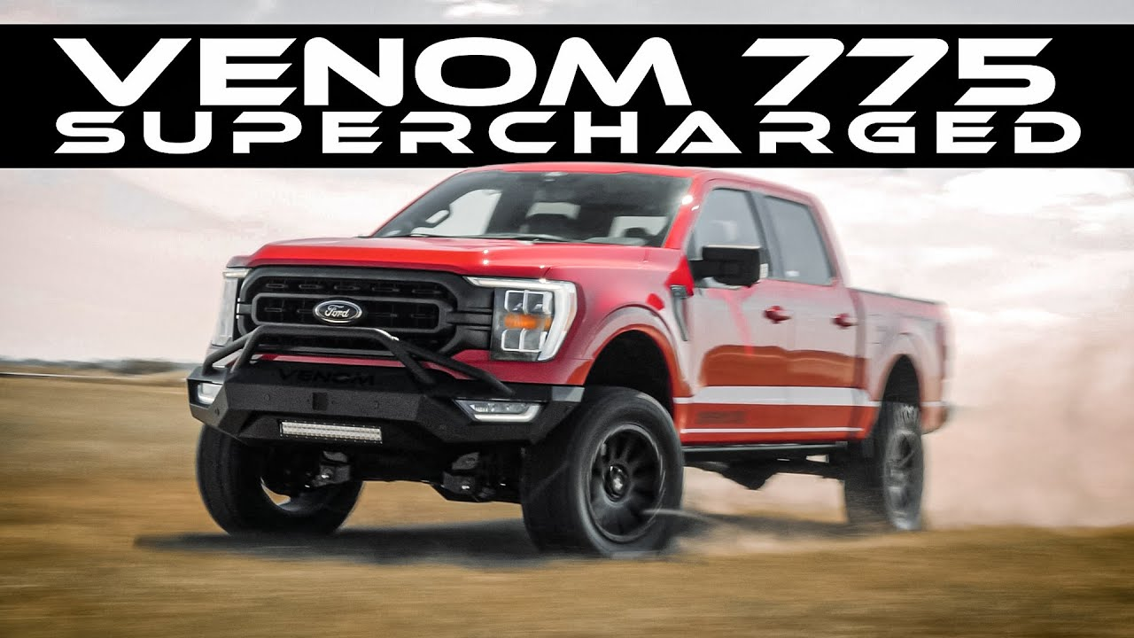 Supercharged 2021 F-150! // VENOM 775 by Hennessey