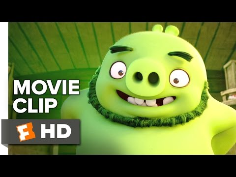 The Angry Birds Movie CLIP - What's a Pig?...
