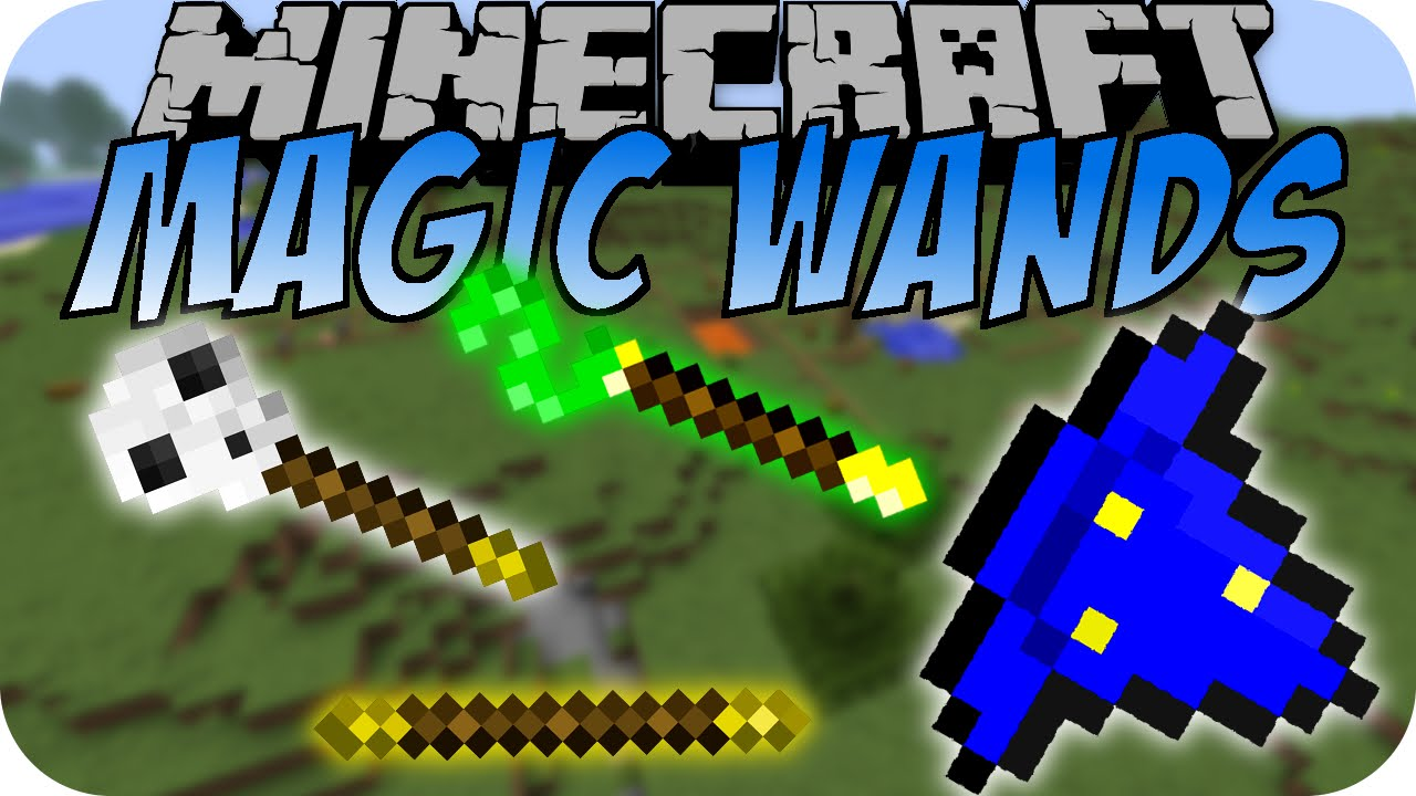 minecraft magic wands zauberst be magie deutsch youtube. Black Bedroom Furniture Sets. Home Design Ideas