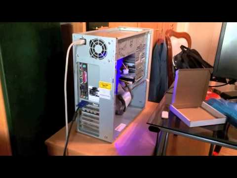 Pentium 4 PC NVIDIA GeForce FX5500 and USB 2.0 Card Upgrade