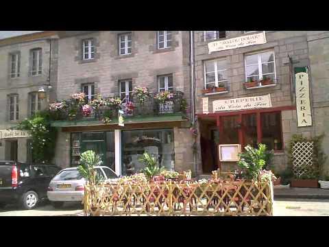 Moncontour, Brittany, France
