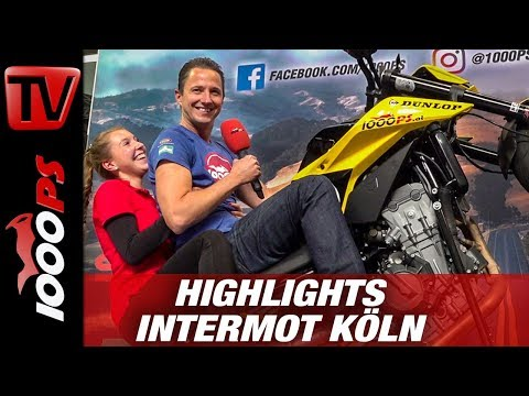 INTERMOT Köln 2018 - Die Motorrad Neuheiten 2019 - Messerundgang