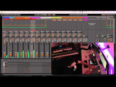 Maverix - Tron - The Grid (Live Looping Launchpad Cover Preview)