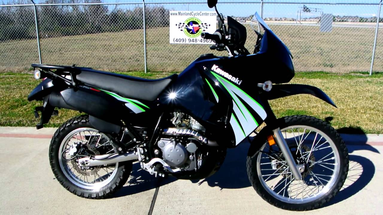 2009 Kawasaki KLR650 Black KLR 650 Overview! - YouTube