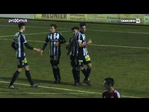 Match amical : LUXEMBOURG - R.CHARLEROI SC -  (3-2)