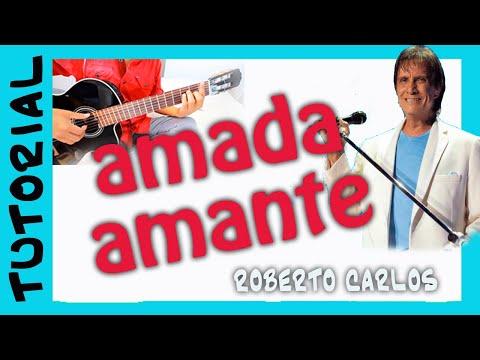 como tocar AMADA AMANTE en guitarra cover tutorial