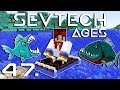 PIRANHA TÁMADÁS! - SevTech: Ages - Minecraft - 47.rész