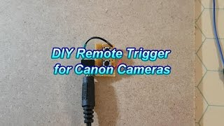 TWT #5: How to make a DIY Canon Remote Trigger