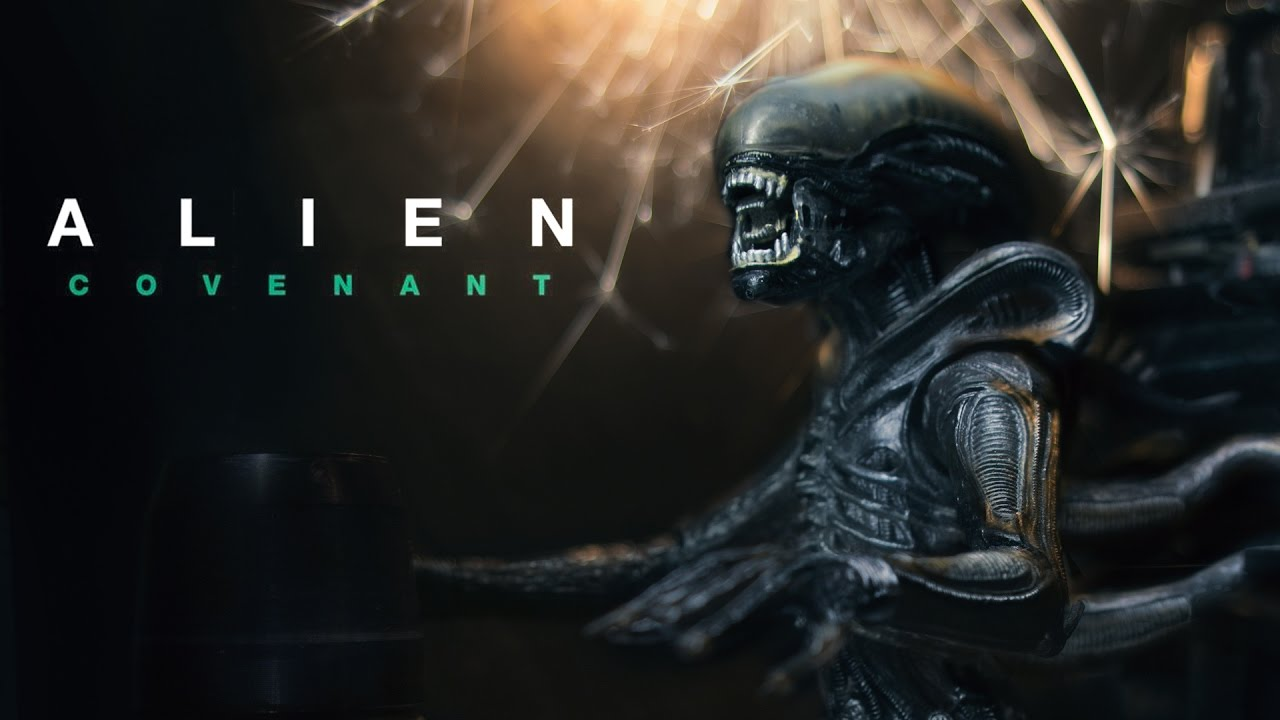 Alien Covenant Toy Photography Tutorial Photoshop Cc Youtube