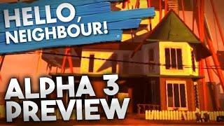 PROOF Hello Neighbor Is HAUNTED! & New Alpha 3 House | Hello Neighbor