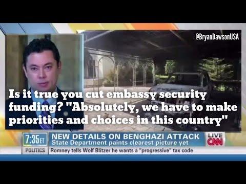 Benghazi: Rep. Chaffetz boasts GOP cut embassy security funding!