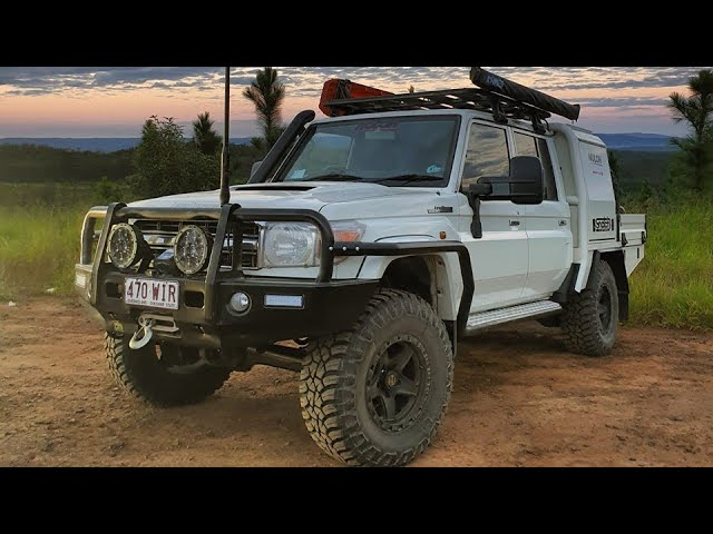 Shaun Whale's BEAST 79 LandCruiser! In-depth rundown what you need to know to build the ultimate one