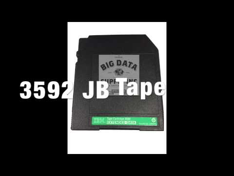 3592 JB Tape Media Buyback - Sell Data Tape - Recycle Data Tape