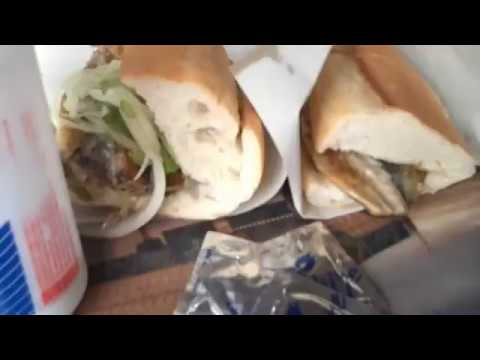 Fried Fish Sandwiches in Istanbul
