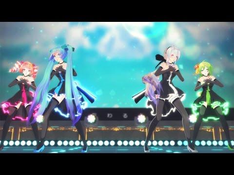 【MMD】「Hand in Hand」 - Miku, Haku, Gumi, Teto 【4K UHD】