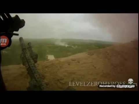 Afghanistan sniping the talbian and explosion