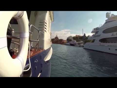 Moving from Nassau Yacht Haven to Atlantis Marina