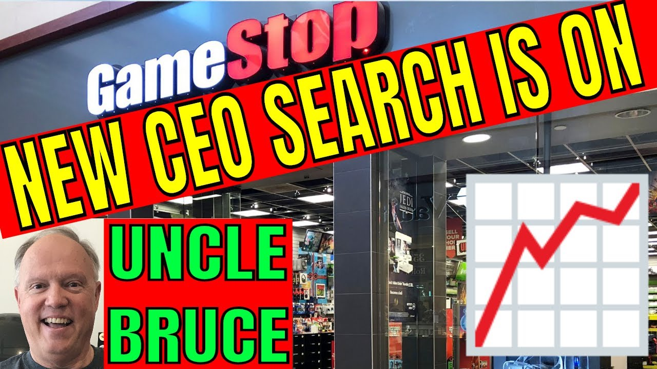 BREAKING NEWS GAMESTOP GME IS LOOKING TO HIRE A NEW CEO TO MOVE INTO E-COMMERCE