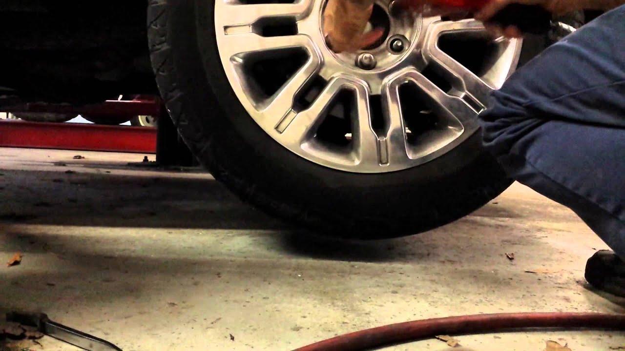 Tire Pressure Sensor Reset >> 2010 F-150 TPMS fault - YouTube