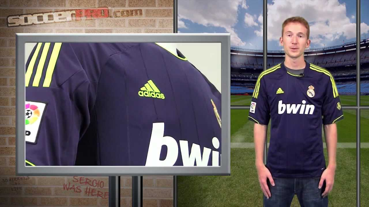 2012-13 Real Madrid Away Jersey Review - YouTube 341b1594b