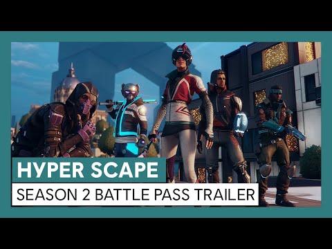 Hyper Scape: Season 2 Battle Pass Trailer | Ubisoft [DE]